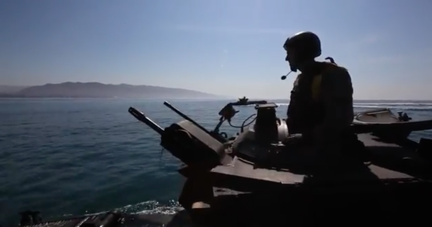Screen Shot 2017 04 29 at 2.42.11 PM - Learn About A Day In The Life Of An Amphibious Assault Vehicle Crewman