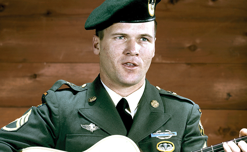"Op-Ed: A Double-Edged Sword – Staff Sgt. Barry Sadler & ""The Ballad Of The Green Berets"" Featured"