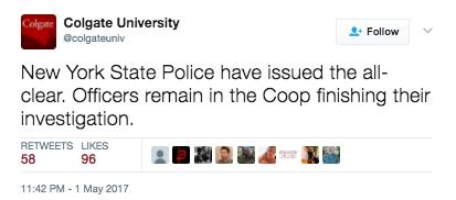 Screen Shot 2017 05 04 at 11.30.04 AM - Colgate University Goes On Lockdown Over Hot Glue Gun