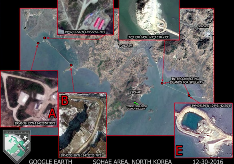 North Korea Is Building Artificial Islands That Could Be Used For Missile Launches Featured