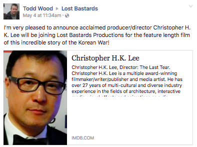 """Screen Shot 2017 05 08 at 2.49.07 PM - """"Lost Bastards"""" Book Featuring The True Story Of American Troops' Top Secret Mission In The Korean War To Be Made Into Movie"""