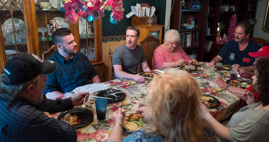 What It's Like To Have A Surprise Dinner With Mark Zuckerberg Featured