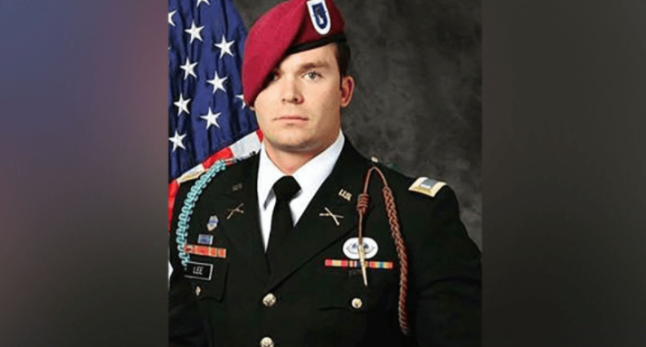Screen Shot 2017 05 09 at 1.06.30 PM - (VIDEO) The Body Of Fallen Soldier 1st Lt. Weston C. Lee Returns Home