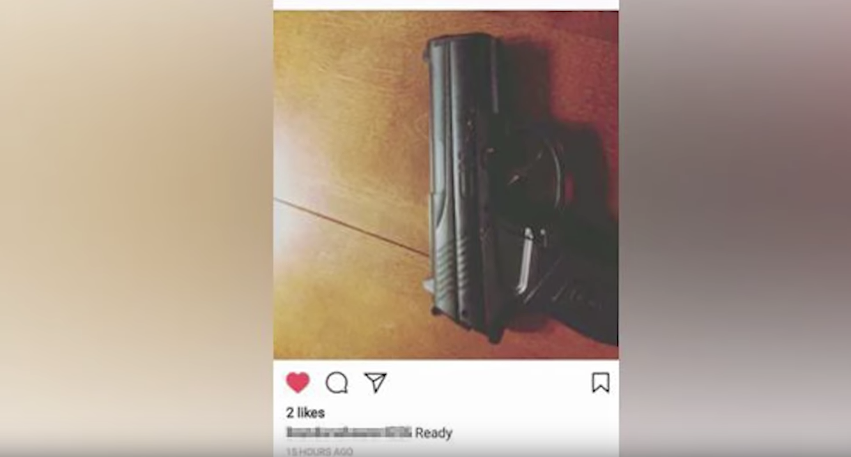 """Middle School Student Suspended After """"Liking"""" A Gun Photo On Instagram Featured"""