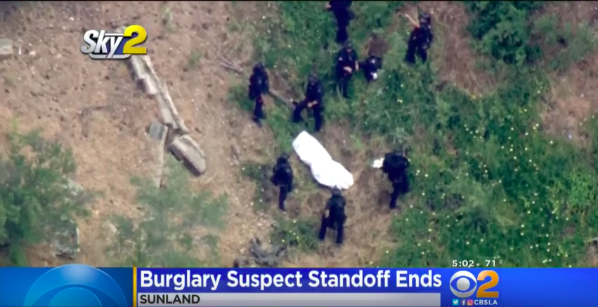 A SWAT Team In Los Angeles Shot & Killed A Suspect From A Helicopter For The First Time Featured