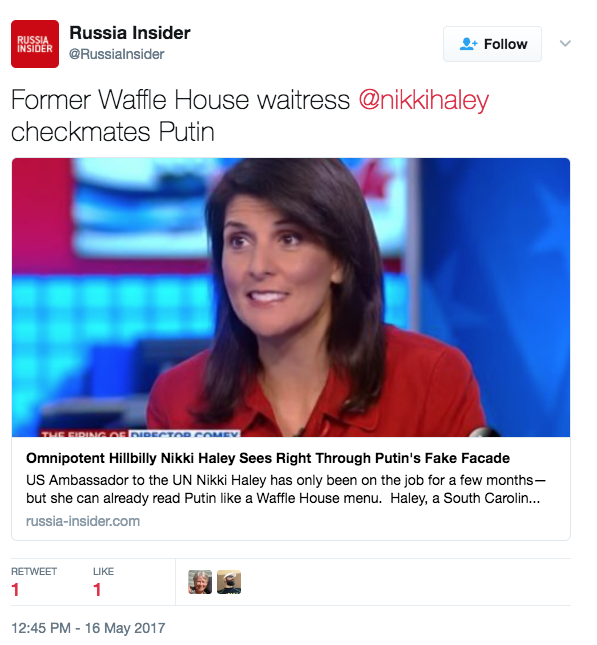 Screen Shot 2017 05 16 at 1.07.09 PM - Here Are The Most Hilariously Outrageous Headlines From The Pro-Russia News Site 'Russia Insider'