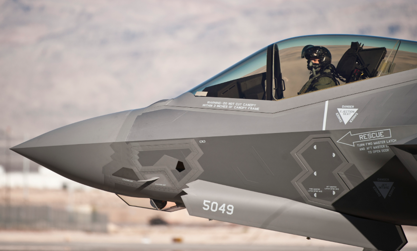An F-35 Pilot Explains Why Russia & China's Counterstealth Can't Stop Him Featured