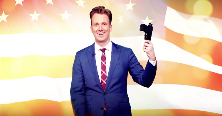 Screen Shot 2017 05 16 at 3.20.11 PM - 'Daily Show's' Jordan Klepper To 'Solve' Gun Control Debate In Comedy Central Special