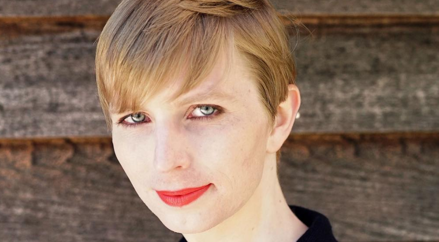 Screen Shot 2017 05 18 at 1.57.35 PM - Chelsea Manning Releases First Post-Prison Portrait