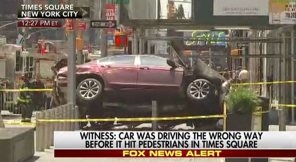TIMES SQUARE: At Least 1 Dead, 13+ Injured After Car Plows Through Pedestrians Featured