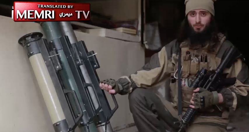 'American' ISIS Fighter Calls For Attacks On U.S. Soil In New Propaganda Video Featured