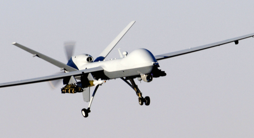 Screen Shot 2017 05 19 at 11.58.42 AM - British Reaper Drone Strike Stops ISIS Public Execution