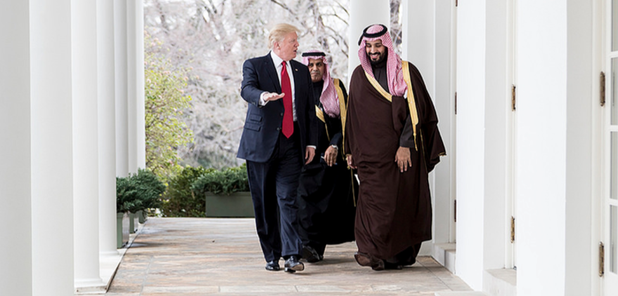 Trump Expected To Announce $110 Billion Arms Deal With Saudi Arabia Featured