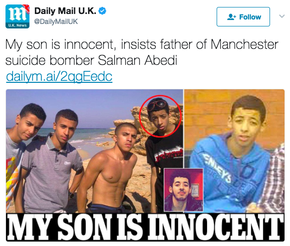 Screen Shot 2017 05 24 at 4.09.18 PM - ALERT: Father And Brother Of Manchester Bomber Arrested In Libya In Widening Terror Network