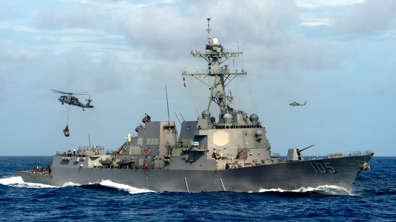 Screen Shot 2017 05 25 at 8.50.03 AM - American Warship Sails Near South China Sea Islands That China Falsely 'Claims' & China 'Warns' U.S.