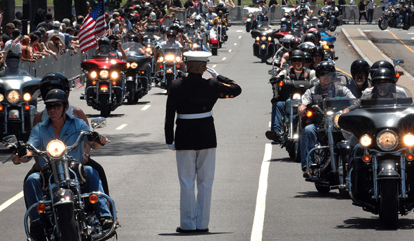 Approximately 900,000 Bikers & Supporters Gather To Mark More Than 30 Years Of Rolling Thunder Featured