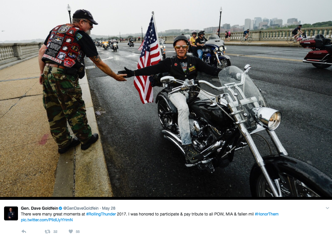 Screen Shot 2017 05 30 at 12.13.07 PM - Approximately 900,000 Bikers & Supporters Gather To Mark More Than 30 Years Of Rolling Thunder