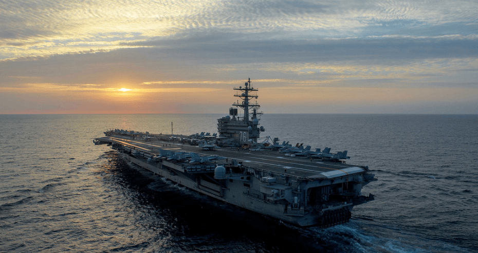 Iranian ships charge at USS Nimitz strike group in Persian Gulf; US fires flares; Iran complains Featured