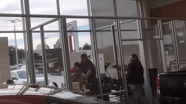 Screen Shot 2017 06 01 at 3.11.13 PM - (Raw Video) Bounty Hunters, Fugitive Killed In Gunfight At Car Dealership