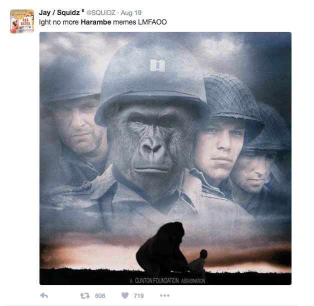 Screen Shot 2017 06 02 at 11.25.36 AM - Here Is How The Internet Remembered Harambe The Gorilla One Year After His Death