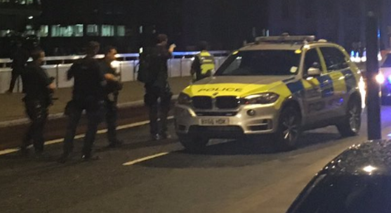 Terror Attacks In London: 'This Is For Allah;' 6+ Dead, 30+ Injured As Van Mows Down People On London Bridge; Machete Stabbing Spree In Nearby Neighborhood Featured