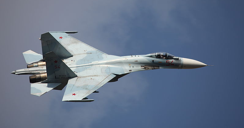 Officials: Armed Russian jet gets within 5 feet of an Air Force recon jet Featured