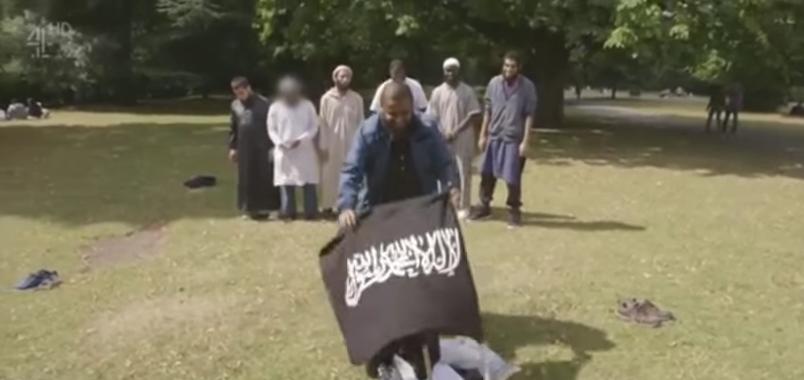 Screen Shot 2017 06 06 at 1.32.52 PM - London Terrorist Was In 'Jihadis Next Door' TV Documentary With Fellow Jihadi Waving Jihadi Flag (VIDEO)