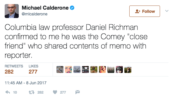 Screen Shot 2017 06 08 at 1.45.55 PM - 5 Blockbuster Things You Need To Know After Comey's Testimony