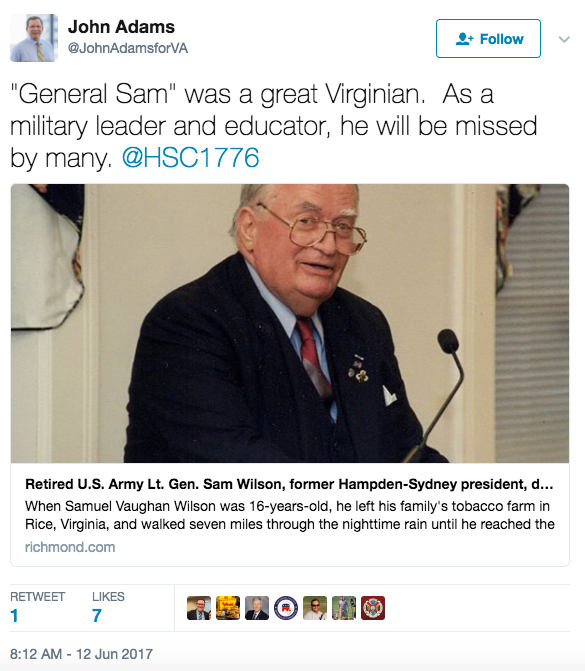 Screen Shot 2017 06 12 at 3.57.39 PM - Legendary Retired Army Lt. Gen. Samuel Wilson, Who Helped Create Delta Force, Dies At Age 93