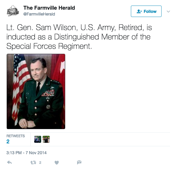 Screen Shot 2017 06 12 at 4.15.12 PM - Legendary Retired Army Lt. Gen. Samuel Wilson, Who Helped Create Delta Force, Dies At Age 93