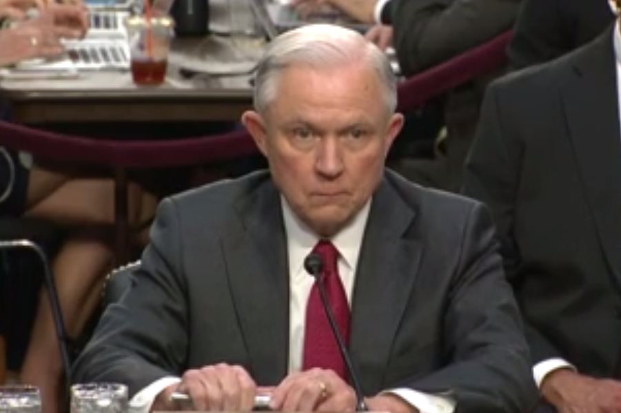 Screen Shot 2017 06 13 at 2.49.29 PM - Attorney General Jeff Sessions: It's an 'appalling and detestable lie' to suggest he had interactions with the Russians