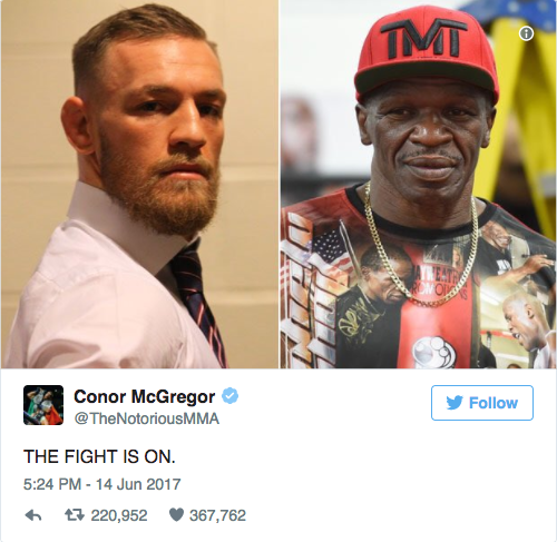 Screen Shot 2017 06 15 at 11.46.07 AM - Conor McGregor - Floyd Mayweather Fight Finalized