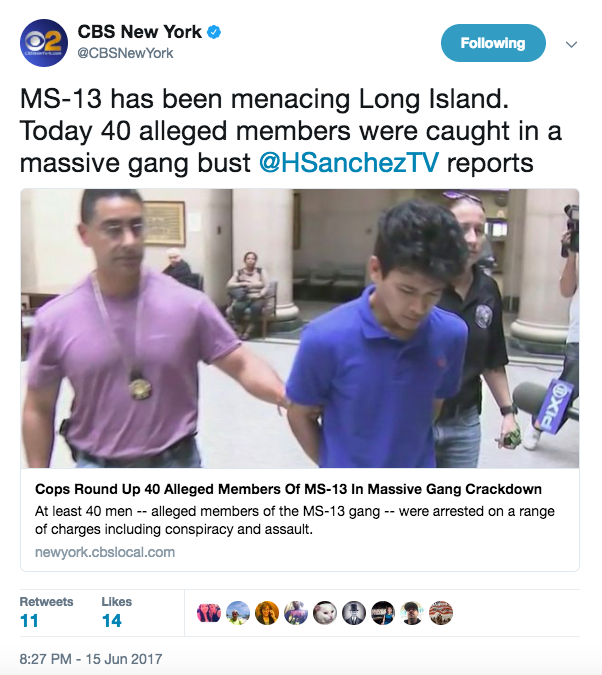 Screen Shot 2017 06 16 at 1.12.33 PM - MS-13 head honchos are telling members to specifically target New York, according to Long Island DA