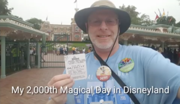 Happiest Place On Earth: An Air Force vet visits Disneyland 2,000 days in a row Featured