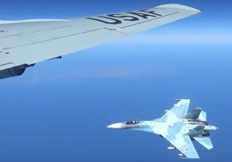 Screen Shot 2017 06 26 at 2.55.45 PM - (PHOTOS) New images show just how close an armed Russian jet came to an Air Force recon plane