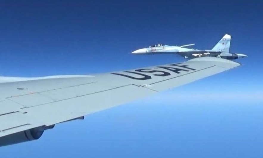 Screen Shot 2017 06 26 at 2.58.02 PM - (PHOTOS) New images show just how close an armed Russian jet came to an Air Force recon plane