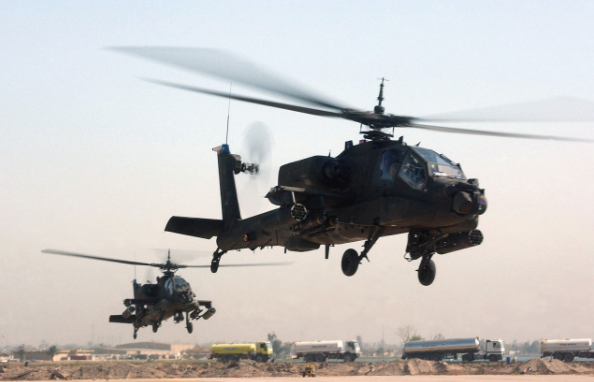 US Army tests powerful laser beam on Apache helicopter Featured