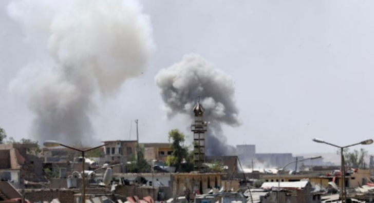 ISIS caliphate stronghold wiped out as Iraqi Army recaptures mosque in Mosul Featured