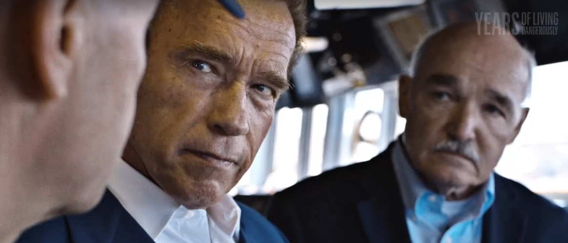 (VIDEO) Schwarzenegger meets with U.S. Navy to talk climate change & its impact on the military Featured