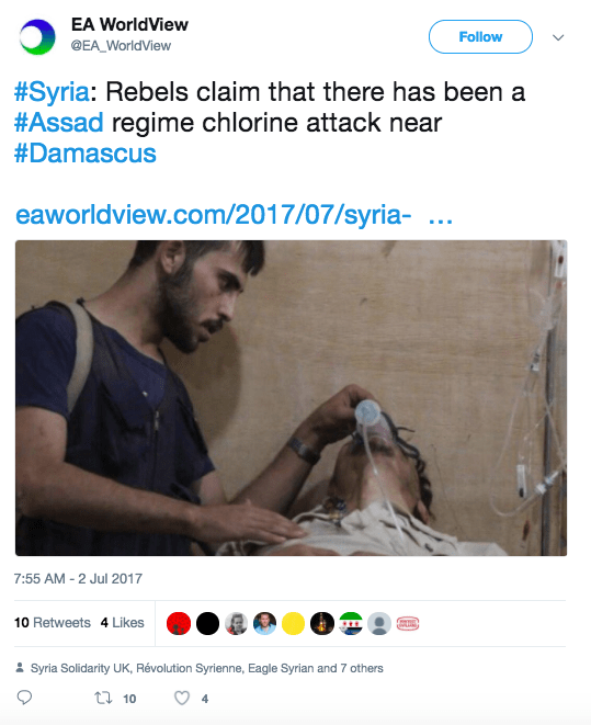 Screen Shot 2017 07 03 at 12.03.33 PM - Syrian army accused of using chemical weapons in new chlorine gas attack claim
