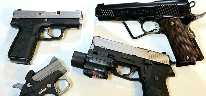(VIDEO) Favorite .45 ACP handguns for carry, duty and range Featured