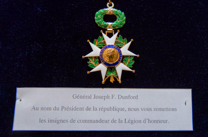 Screen Shot 2017 07 17 at 2.28.51 PM - France awards US Marine Corps general the country's top honor for military merit