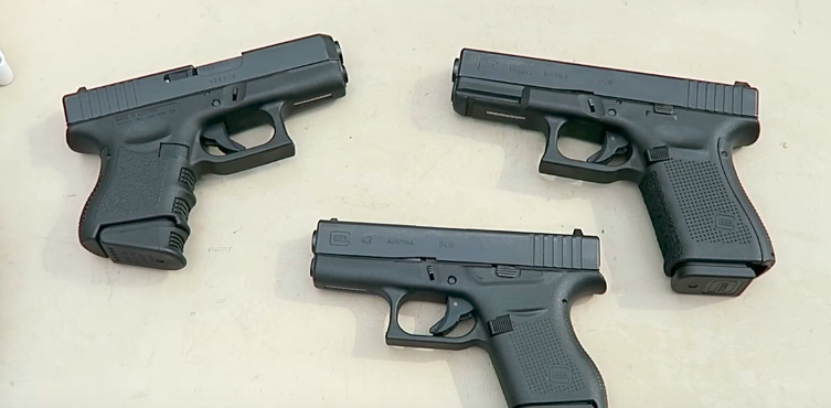 (VIDEO) America loves Glock handguns, and here are three in 9mm Featured