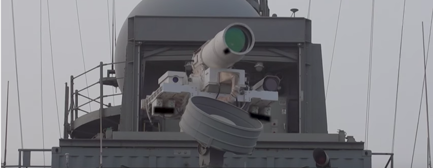 Screen Shot 2017 07 20 at 11.25.31 AM - (VIDEO) The US Navy test-fires the first fully operational anti-drone laser weapons system