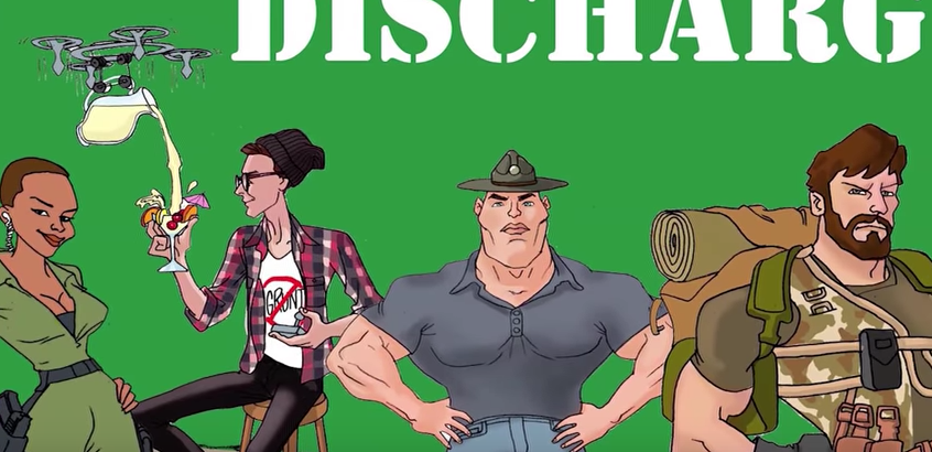 Veteran-created 'Discharged' animated series aims to help others through 'holistic comedy' Featured