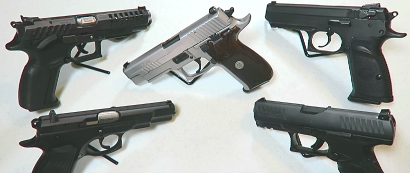 (VIDEO) The best 9mm handguns in today's market Featured