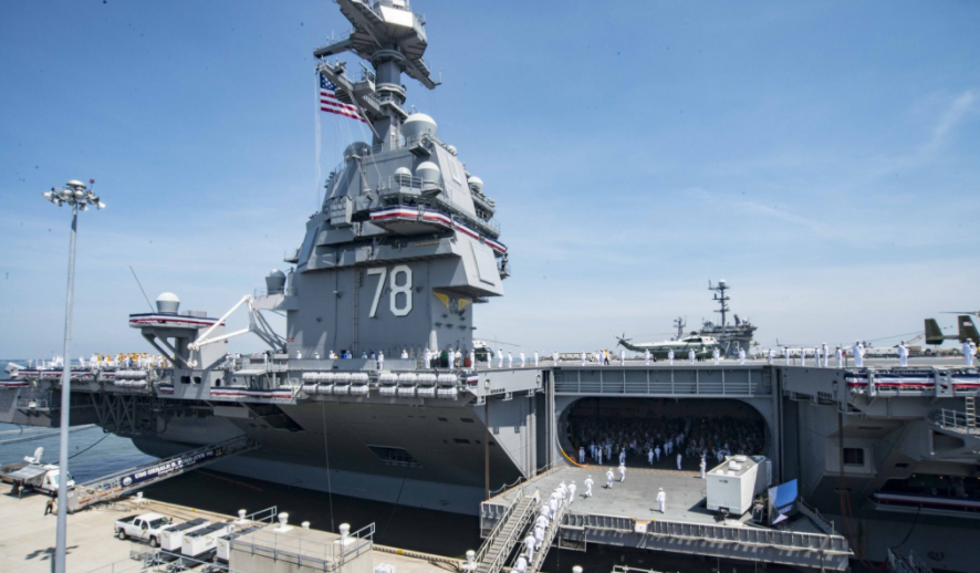 The Navy's newest, most sophisticated aircraft carrier doesn't have urinals Featured