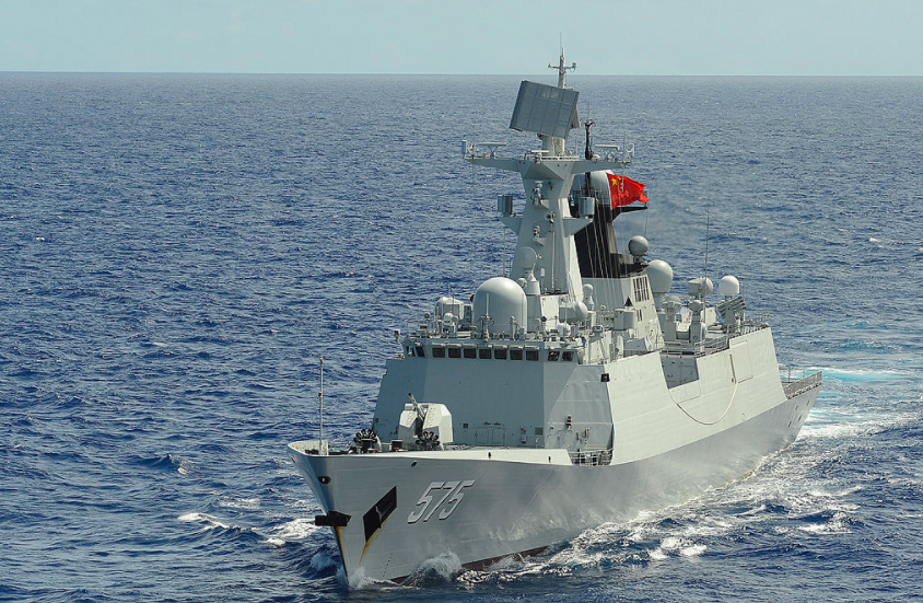 A Chinese spy ship spotted near US-Australian war games may signal an evolution in China's behavior at sea Featured