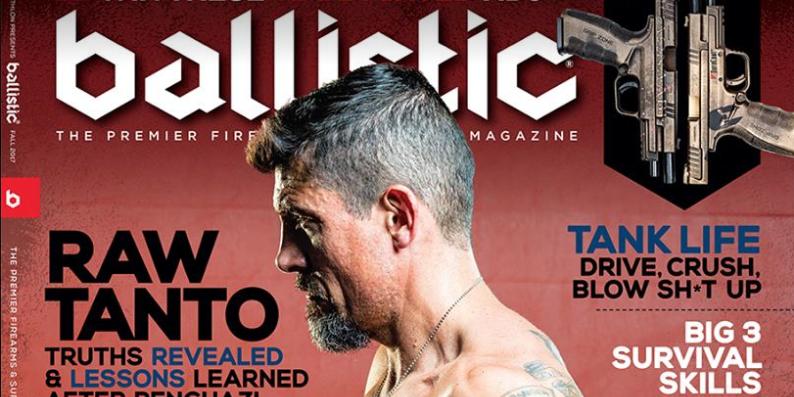 Benghazi hero Kris 'Tanto' Paronto lands on the cover of Ballistic magazine Featured