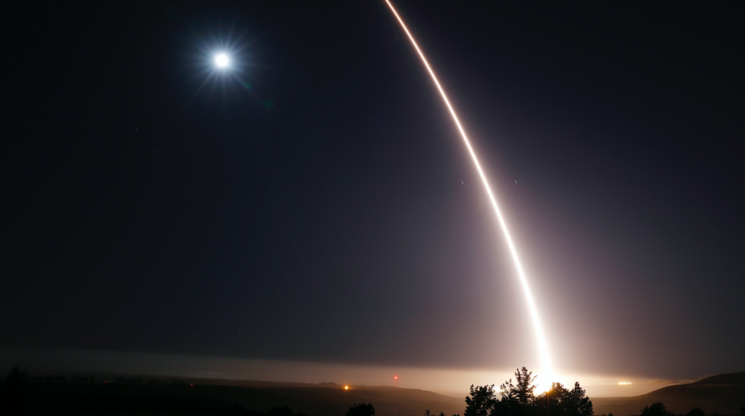 US Air Force hires two firms to start developing America's next ICBM Featured